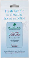 Eco Badge Fresh Air Kit Indoor Ozone Detector