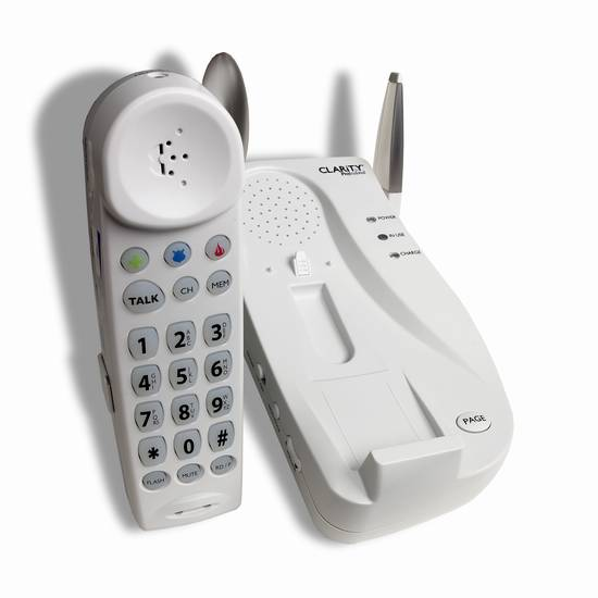 Clarity C4205 Amplified Cordless Phone
