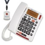 Clearsounds Talk500-ER Amplified Corded SOS Alert Telephone Personal Emergency Response System ( PERS )